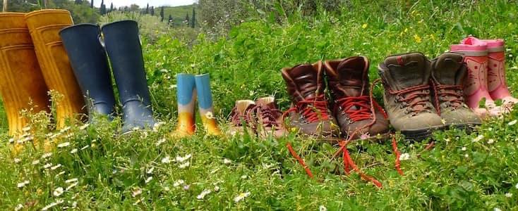 scarponi da giardinaggio