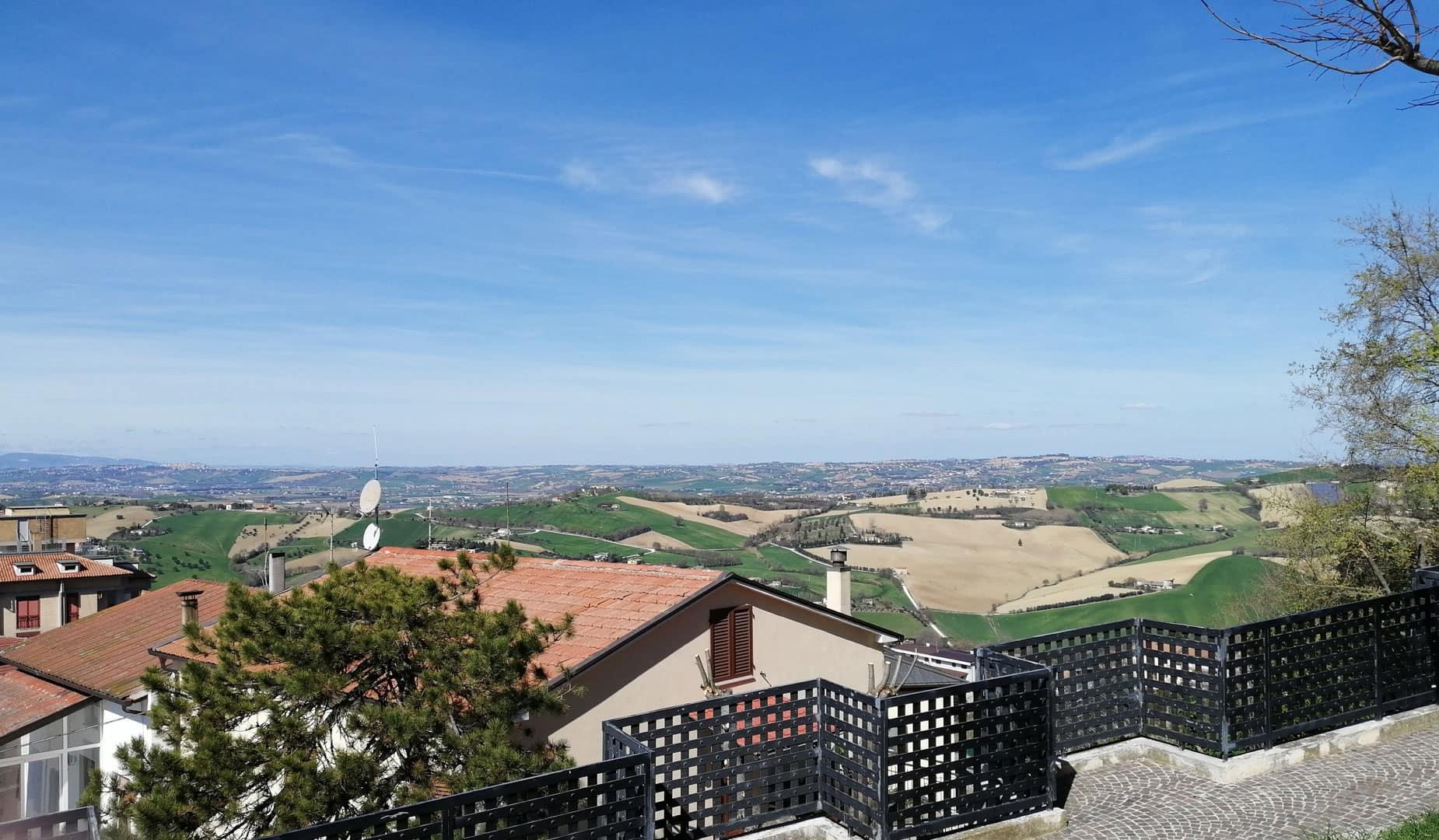 vista colline montegranaro