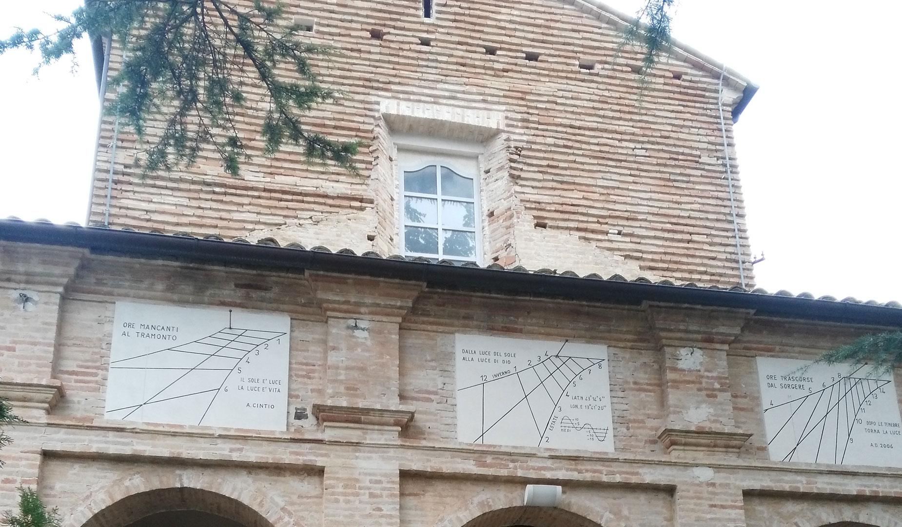 sant'elpidio a mare facciata medievale