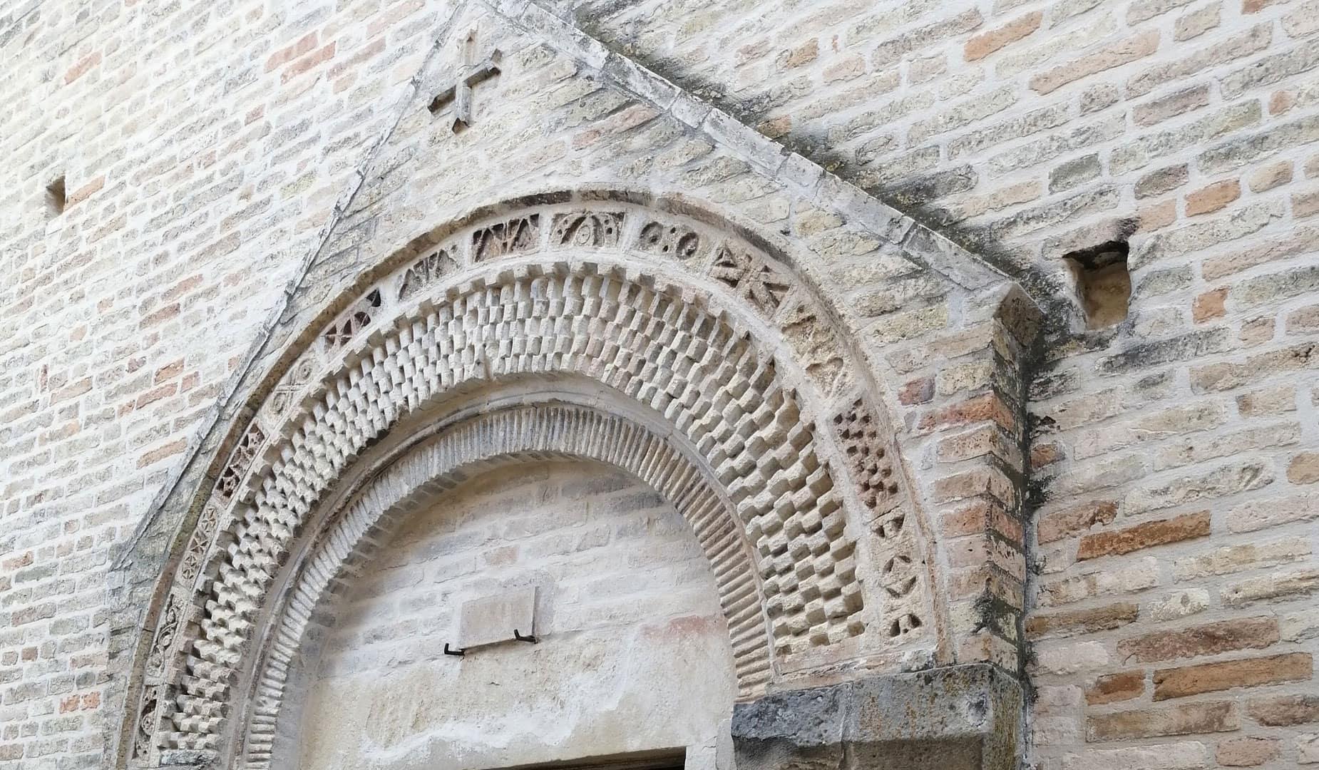 dettaglio chiesa torre di palme