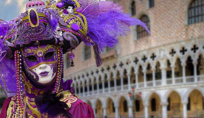 Spettacolare evento di Carnevale a Venezia